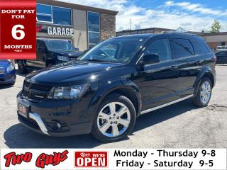 Used 2019 Dodge Journey Crossroad   3.6L   DVD   Sunroof   7 Pass   for sale in St Catharines, ON