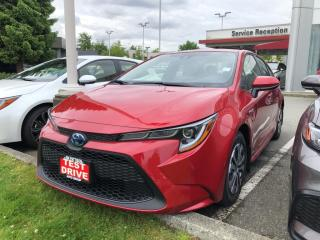 New 2021 Toyota Corolla Hybrid for sale in North Vancouver, BC