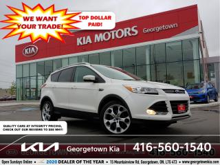Used 2016 Ford Escape TITANIUM AWD | CLN CRFX | NAV | PANO ROOF | BU CAM for sale in Georgetown, ON