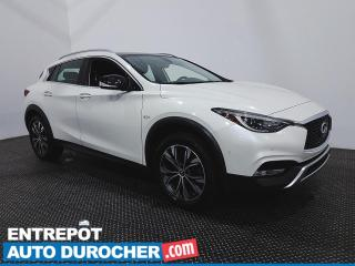 Used 2017 Infiniti QX30 Premium - AWD - Navigation - Climatiseur - Cuir for sale in Laval, QC