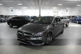 Used 2018 Mercedes-Benz CLA-Class CLA250 4MATIC I AMG I NAVIGATION I PANOROOF I REAR CAM I BT for sale in Mississauga, ON