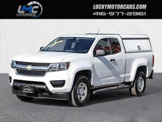 Used 2016 Chevrolet Colorado EXT CAB-BACKUP CAMERA-MATCHING UTILITY CAP-CERTIFIED for sale in Toronto, ON