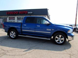 Used 2017 RAM 1500 Big Horn Crew Cab 4WD 5.7L Hemi Camera Certified for sale in Milton, ON