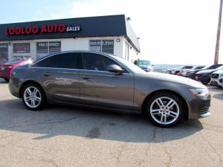 Used 2013 Audi A6 2.0T Premium AWD Navigation Camera Certified for sale in Milton, ON