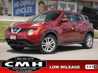 Used 2016 Nissan Juke SV  CAM BLUETOOTH HTD-SEATS 17-AL for sale in St. Catharines, ON