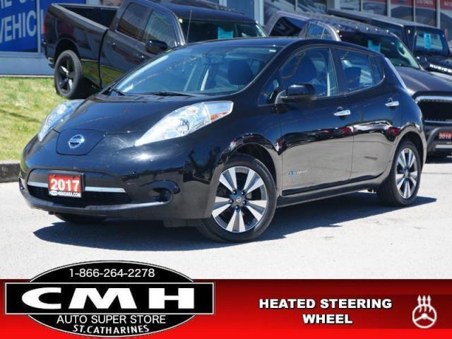 2017 Nissan Leaf S  NAV CAM 4X-HTD-SEATS CLIM-CTRL 17-AL
