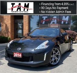 Used 2014 Nissan 370Z 370Z Coupe Touring 6MT NAVI Back-Up Camera Heated Seats Bluetooth Bose for sale in North York, ON