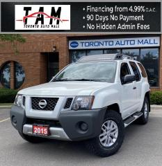 Used 2015 Nissan Xterra PRO-4X 5AT 4WD Bluetooth Keyless Entry One Owner for sale in North York, ON