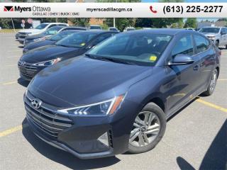 Used 2020 Hyundai Elantra Preferred IVT  AUTO, HEATED SEATS, REAR CAMERA, ALLOY WHEELS, APPLE CARPLAY for sale in Ottawa, ON