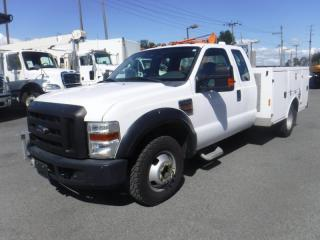 Used 2009 Ford F-350 SD Super Cab Service Truck Diesel Dually Diesel for sale in Burnaby, BC