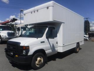 Used 2009 Ford Econoline E-450 14 Foot Diesel Cube Van with Rear Workshop  and Power Tailgate for sale in Burnaby, BC