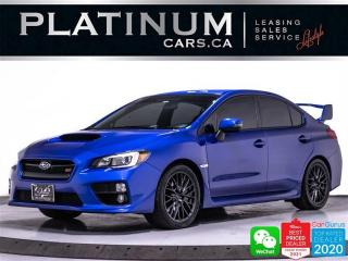 Used 2017 Subaru WRX STI SPORT, 305HP, MANUAL, CAM, HEATED, SUNROOF for sale in Toronto, ON