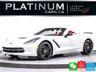 Used 2014 Chevrolet Corvette STINGRAY Z51 3LT, 450HP, CONVERTIBLE, MANUAL, CAM, for sale in Toronto, ON