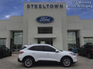 Used 2020 Ford Escape SE 4WD  - Heated Seats -   Android Auto for sale in Selkirk, MB