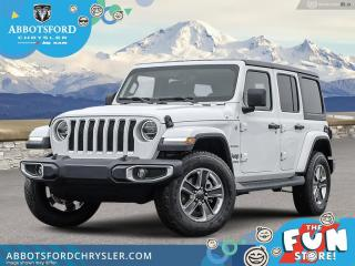 New 2021 Jeep Wrangler Sahara 80th Anniversary Unlimited  - $462 B/W for sale in Abbotsford, BC