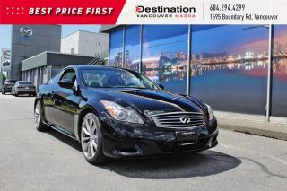 Used 2009 Infiniti G37 Coupe Sport - luxurious coupe paired with a 6 speed MT! for sale in Vancouver, BC