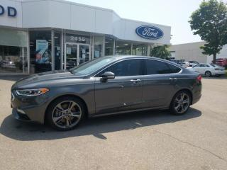 Used 2017 Ford Fusion SPORT AWD for sale in Mississauga, ON