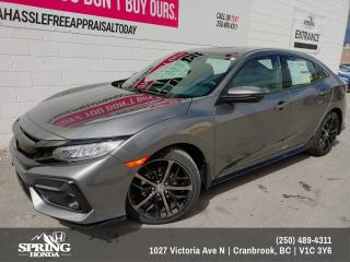 New 2021 Honda Civic Sport Touring for sale in Cranbrook, BC