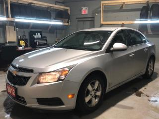 Used 2012 Chevrolet Cruze * Steering Wheel Controls * Hands Free Calling * Cruise Control * On Star * AM/FM/SXM/USB/Aux * Automatic Headlights * Manual Folding Mirrors * Pow for sale in Cambridge, ON