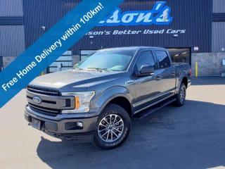 Used 2019 Ford F-150 XLT Sport SuperCrew 4WD, 3.5L Twin Turbo EcoBoost, Navigation, Heated Seats, Power Seat and More! for sale in Guelph, ON