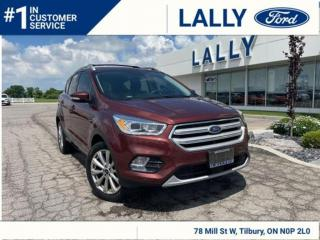 Used 2018 Ford Escape Titanium, One Owner, Loaded, Ask how to get 1.9%!! for sale in Tilbury, ON