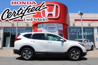 Used 2018 Honda CR-V LX - HONDA CERTIFIED - RATES STARTING @ 3.69% - for sale in Sudbury, ON