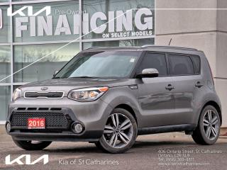 Used 2016 Kia Soul SX | Leather | Backup Cam | Climate Control for sale in St Catharines, ON
