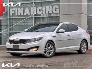 Used 2013 Kia Optima EX+ Turbo | Leather | Climate Control | Pano Roof for sale in St Catharines, ON