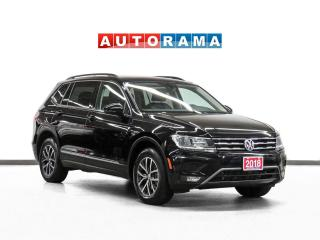 Used 2018 Volkswagen Tiguan AWD Comfortline Navigation Leather PanoRoof Bcam for sale in Toronto, ON