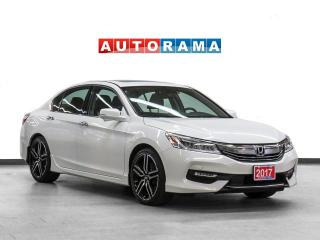 Used 2017 Honda Accord V6 Touring Nav Leather Sunroof Backup Cam for sale in Toronto, ON