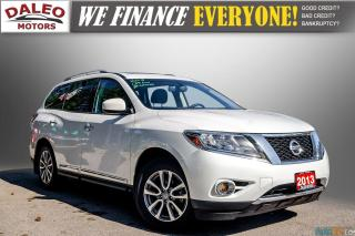 Used 2013 Nissan Pathfinder 7 PASS / LEATHER / HEATED SEATS / PWR MOONROOF for sale in Hamilton, ON