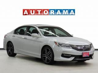 Used 2017 Honda Accord Touring Nav Leather Sunroof Backup Cam for sale in Toronto, ON