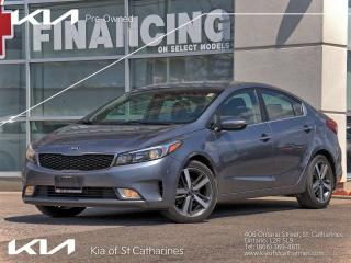 Used 2017 Kia Forte EX+ | Climate Control | Android Auto | Sunroof for sale in St Catharines, ON