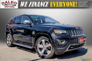 Used 2014 Jeep Grand Cherokee OVERLAND / DIESEL / LEATHER / BACK UP CAM / LOADED for sale in Hamilton, ON