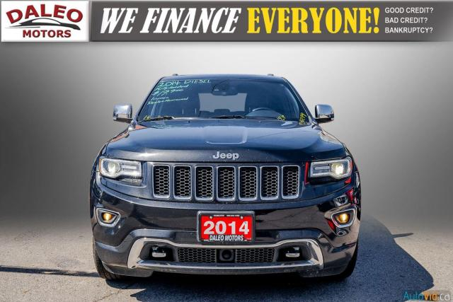 2014 Jeep Grand Cherokee OVERLAND / DIESEL / LEATHER / BACK UP CAM / LOADED Photo3