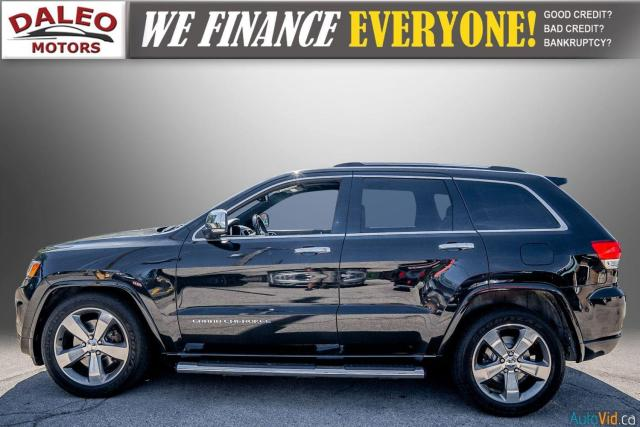 2014 Jeep Grand Cherokee OVERLAND / DIESEL / LEATHER / BACK UP CAM / LOADED Photo5