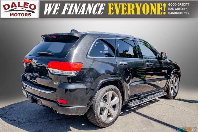 2014 Jeep Grand Cherokee OVERLAND / DIESEL / LEATHER / BACK UP CAM / LOADED Photo8