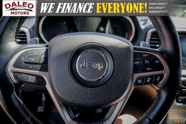 2014 Jeep Grand Cherokee OVERLAND / DIESEL / LEATHER / BACK UP CAM / LOADED Photo19