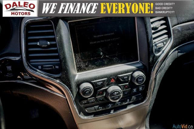 2014 Jeep Grand Cherokee OVERLAND / DIESEL / LEATHER / BACK UP CAM / LOADED Photo21