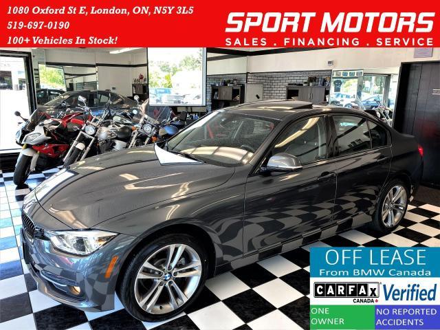 2017 BMW 3 Series 320i xDrive+GPS+Camera+Sensors+LED+CLEAN CARFAX