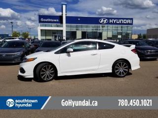 Used 2015 Honda Civic COUPE Si/NAV/SUNROOF/HEAT SEATS for sale in Edmonton, AB
