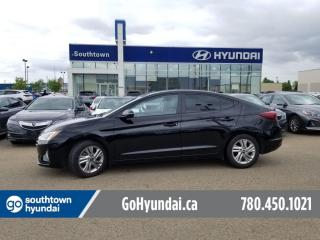 Used 2020 Hyundai Elantra PREFERRED W/SUN AND SAFTEY/SUNROOF/APPLE CARPLAY/BLIND SPOT for sale in Edmonton, AB