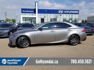 Used 2017 Lexus IS 350 Fsport/AWD/NAV/LEATHER/SUNROOF for sale in Edmonton, AB
