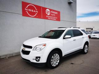 Used 2012 Chevrolet Equinox 2LT / LOW KM / Used Chevrolet Dealershup / One Owner / No Accidents for sale in Edmonton, AB