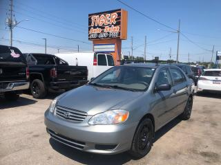 Used 2003 Toyota Corolla *RUNS&DRIVES GREAT*RELIABLE*WARRANTY*CERTIFIED for sale in London, ON