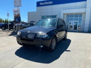 Used 2007 BMW X3 X3 30I X DRIVE/REARDVD/LEATHER/NAV/SUNROOF/BACKUPCAM for sale in Edmonton, AB