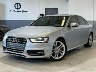 Used 2013 Audi S4 SPORT DIFF|NAV|BSM|BACK UP|RED INTERIOR|CLEAN CF| for sale in Oakville, ON