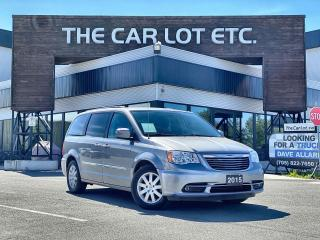 Used 2015 Chrysler Town & Country TOURING for sale in Sudbury, ON