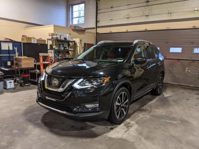 2017 Nissan Rogue *SL PLATINUM* NAV, 360 CAMERA/ BLACK ON TAN