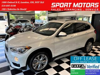 Used 2018 BMW X1 xDrive28i+GPS+Roof+LED Lights+Camera+CLEAN CARFAX for sale in London, ON